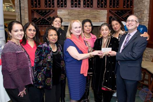 2019: Karuna Charities presented a check for $10,000 to Montgomery College on January 26, 2019 towards Karuna Endowed Scholarship.